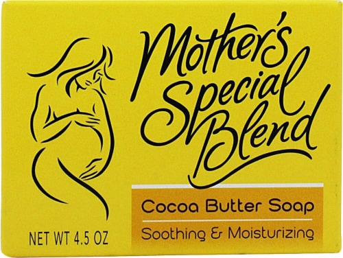 Mother's Special Blend Cocoa Butter Soap Perspective: front