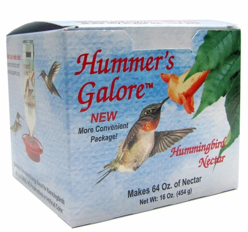 Hummer's Galore Hummingbird Nectar Perspective: front