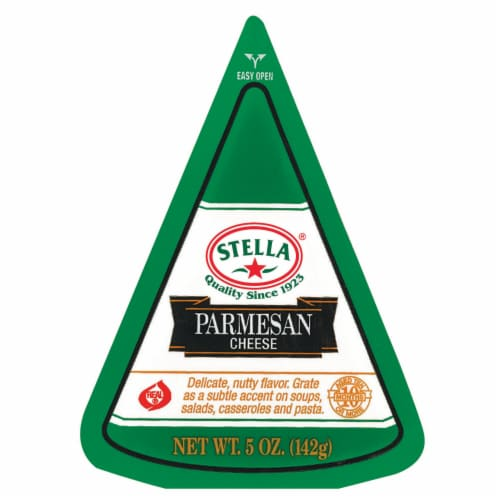 Stella Parmesan Cheese Wedge Perspective: front
