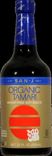 San-J Organic Tamari Soy Sauce Perspective: front