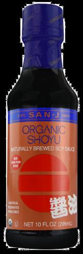 San-J Organic Shoyu Soy Sauce Perspective: front