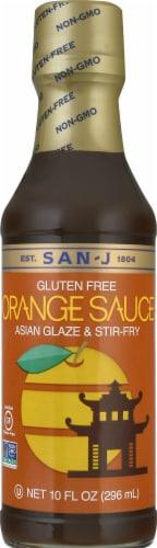 San-J Gluten Free Orange Asian Glaze & Stir-Fry Sauce Perspective: front