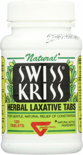 Swiss Kriss Herbal Laxative Tabs Perspective: front