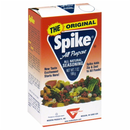 Spike Original All Purpose Seasoning Perspective: front