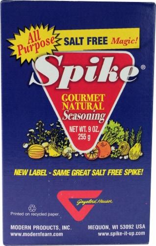 Spike Gourmet Natural Seasoning Salt Free Perspective: front