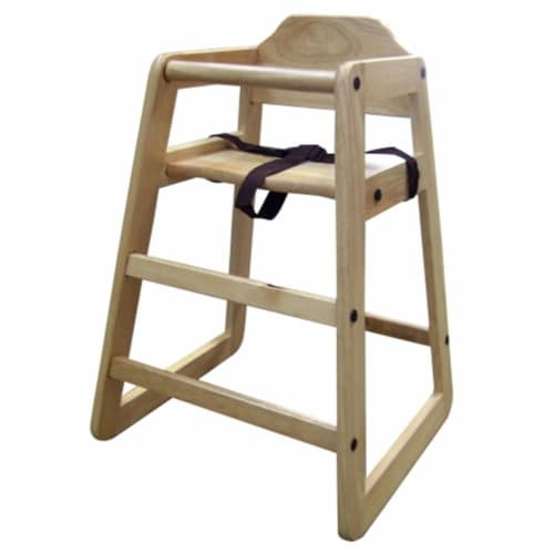 Ore International H-129 29   Toddler Restaurant-Style Highchair Perspective: front