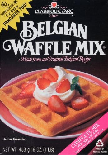 Classique Fair Belgian Waffle Mix Perspective: front