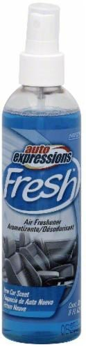 Auto Expressions® Fresh New Car Scent Spray Car Air Freshener Perspective: front