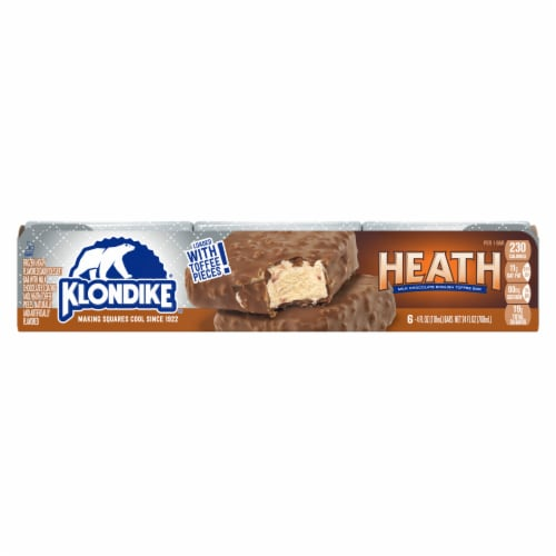 Klondike Heath Ice Cream Bars Perspective: front