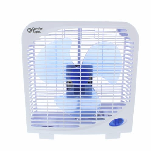 Lasko Portable 2 Speed 9-Inch Box Fan - Assorted Perspective: front