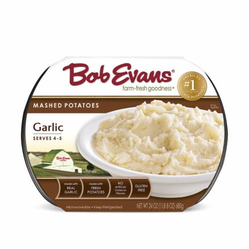Bob Evans Garlic Mashed Potatoes Perspective: front