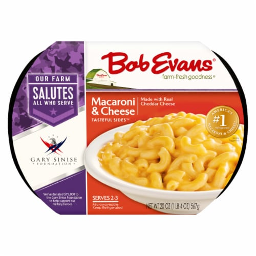 Bob Evans Tasteful Sides Macaroni & Cheese Side Dish Perspective: front