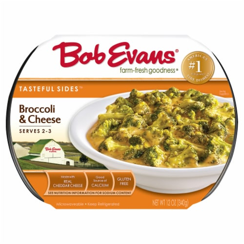 Bob Evans Homestyle Broccoli & Cheese Side Dishes Perspective: front