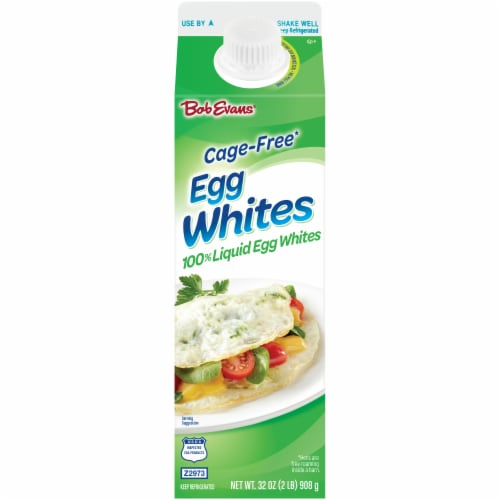 Bob Evans Cage-Free Liquid Egg Whites Perspective: front