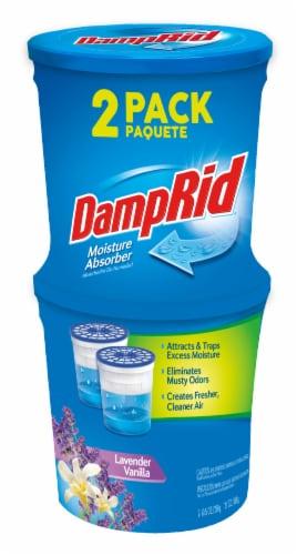 DampRid Moisture Absorber - 2 Pack - Lavender Vanilla Perspective: front