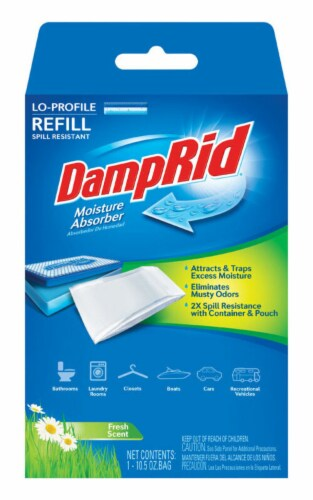 DampRid 10.5 oz. Fresh Scent Moisture Absorber Refill - Case Of: 4; Perspective: front