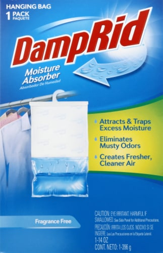 DampRid Fragrance-Free Hanging Moisture Absorber Perspective: front