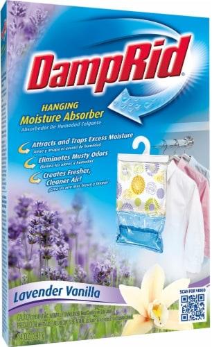DampRid Lavender Vanilla Hanging Moisture Absorber Perspective: front