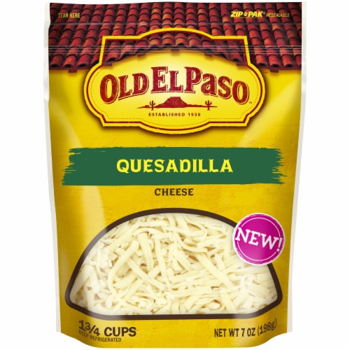 Old El Paso Quesadilla Shredded Cheese Perspective: front