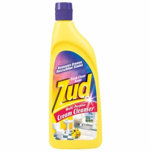 Zud  Fresh Clean Scent Heavy Duty Cleaner  19 oz. Cream - Case Of: 1; Perspective: front