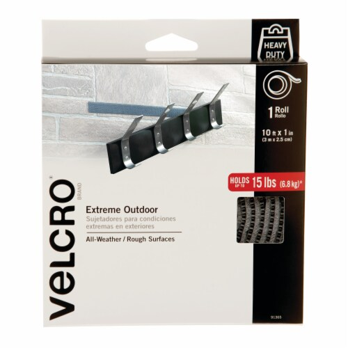 Velcro Extreme Outdoor Roll Perspective: front