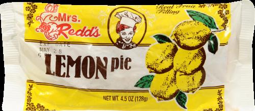 Mrs. Redd's Lemon Pie Perspective: front