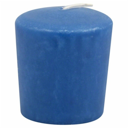 Candle-lite Fresh Lavender Votive Candle - Ocean Blue Perspective: front