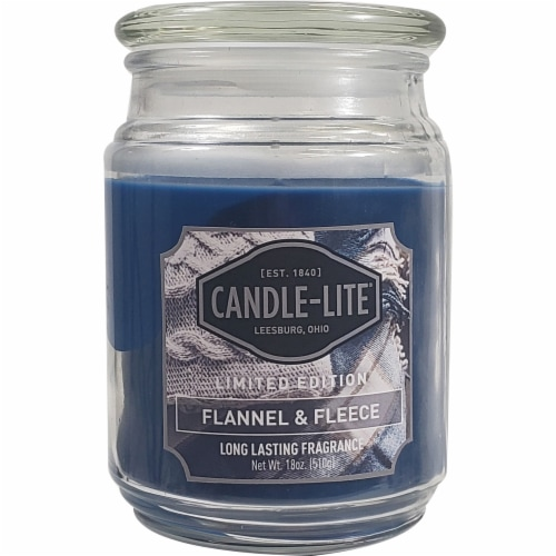 Pick N Save Candle Lite Flannel Fleece Scented Candle 18 Oz