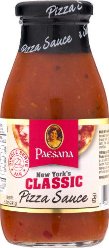 Paesana Classic Pizza Sauce Perspective: front