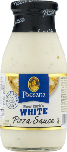 Paesana New York's White Pizza Sauce Perspective: front