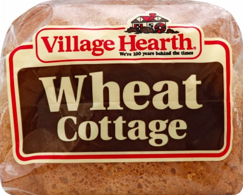 Village Hearth Cottage Wheat Bread Perspective: front