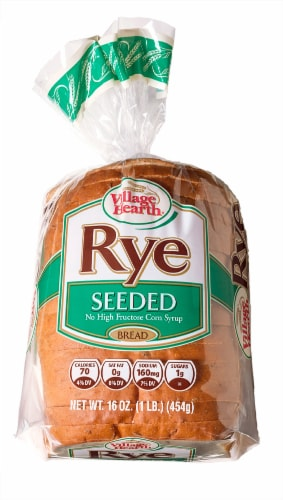 Village Hearth Seeded Rye Bread Perspective: front