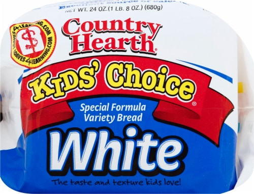 Country Hearth Kids' Choice White Bread Perspective: front