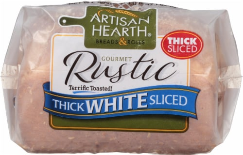 Artisan Hearth Rustic Country White Bread Perspective: front