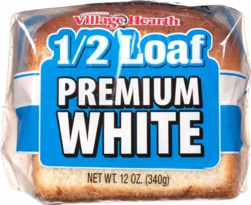 Village Hearth Premim White Half Loaf Perspective: front