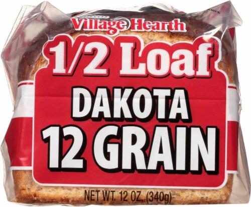 Village Hearth Dakota 12 Grain Half Loaf Perspective: front