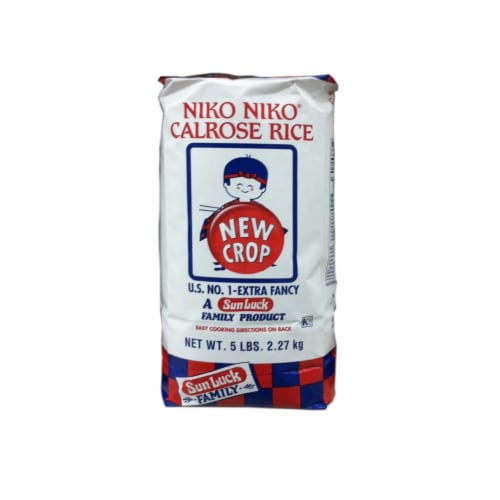 Niko Niko Calrose Rice Perspective: front
