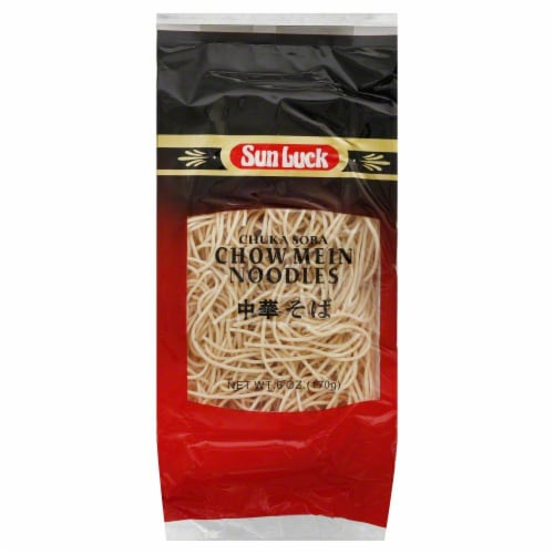 Snlk Chuka Soba Chow Mein Noodles Perspective: front