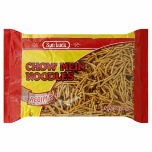 Sun Luck Chow Mein Noodles Perspective: front