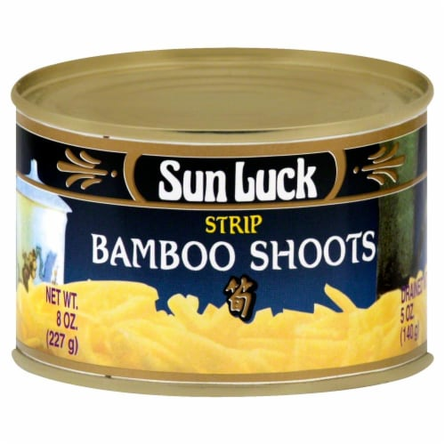 Sun Luck Bamboo Shoots Perspective: front