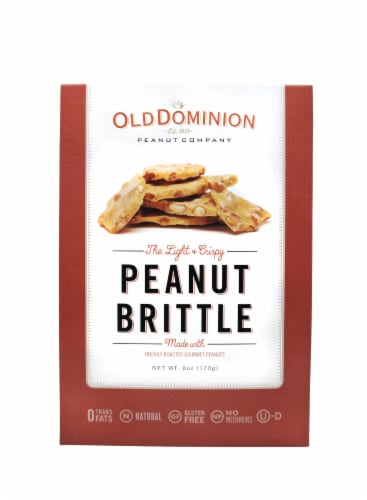 Old Dominion Old Fashioned Peanut Brittle Perspective: front