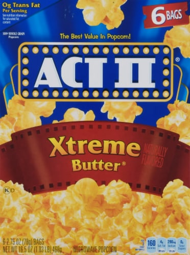Act II Xtreme Butter Popcorn Perspective: front