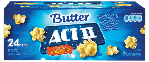 Act II Butter Lovers Microwave Popcorn Perspective: front