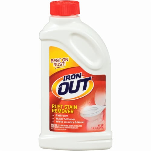 Iron Out Rust Stain Remover Perspective: front