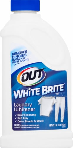 White Brite Out Laundry Whitener Perspective: front