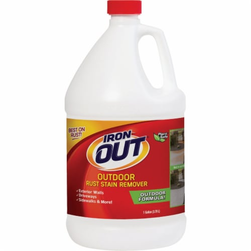 Iron Out 128 Oz. Outdoor Rust Remover LIO4128N Perspective: front