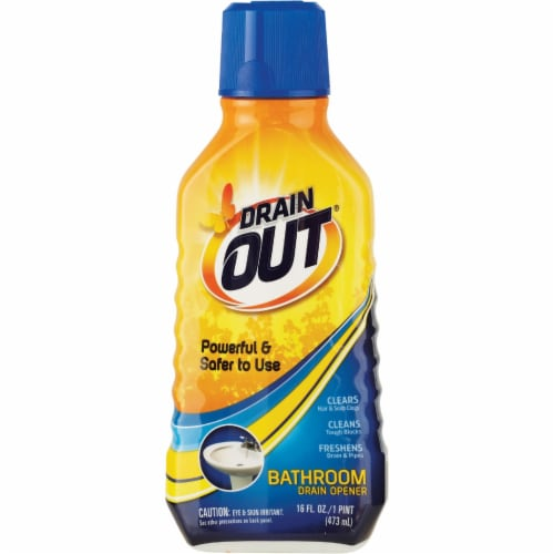 Drain Out® Bathroom Drain Opener Perspective: front
