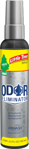 Little Trees AirWash Original Automotive Odor Eliminator Spray Perspective: front
