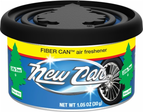 Little Trees New Car Scent Fiber Can Air Freshener Perspective: front