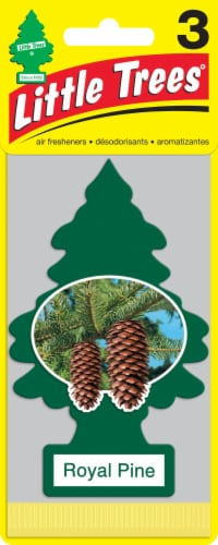 Little Trees Royal Pine Air Fresheners Perspective: front